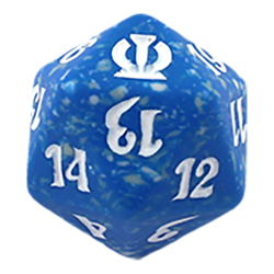 Dados d20 Spindown