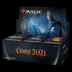 Caja de 36 sobres de Core 2021