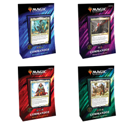Commander 2019: Set de 4 mazos